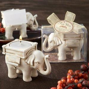 SET OF 5 Lucky Elephant Tealight Holder